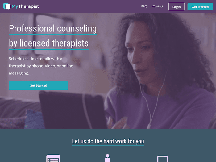 MyTherapist most affordable online therapy site