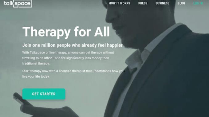 talkspace online psychotherapy