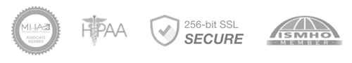 BetterHelp security and certification badges