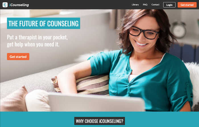 iCounseling most affordable online therapy site