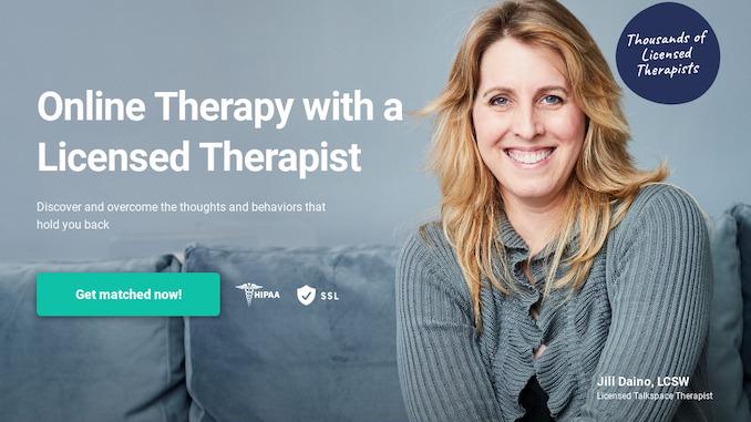 Talkspace online psychotherapy